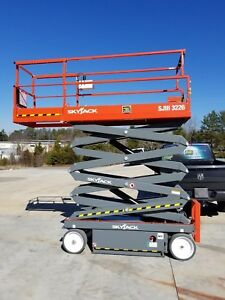 Scissor Lift 26 Feet 2018 Skyjack 3226 Delivery And Financing Available