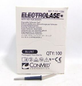 Electrolase Disposable Hyfrecator Tips Blunt 100 Count