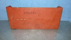 Vintage Ih Shield Cover 599071r2 International Harvester Tractor Implement