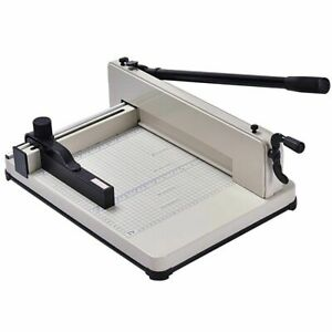 A4 Paper Cutter Office Home Heavy Duty Guillotine Trimmer Cutting Machine 400 Sh