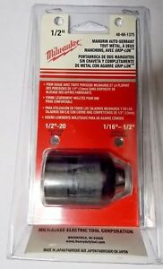 Genuine Milwaukee 48 66 1375 Two Sleeve 1 2 Keyless Hammer Drill Chuck