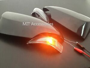 Toyota Camry 2012 2014 Outside Door Mirror Cover Turn Signal Lights Unpainted
