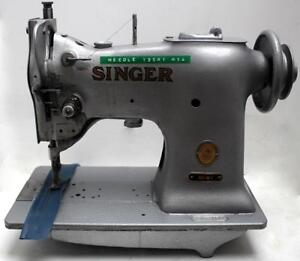 Singer 151w1 Walking Foot Lockstitch Industrial Leather Sewing Machine Head Only