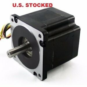 3pcs Nema34 Stepper Motor 906 Oz In 6 1a Single Shaft kl34h295 43 8a