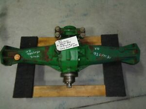 John Deere 950 1050 4x4 Front Axle With Ring Pinion Read The Add