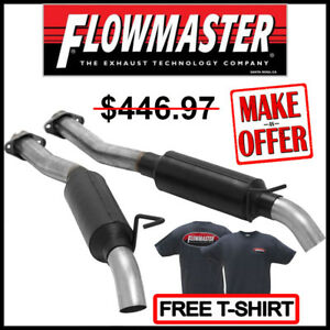 Flowmaster 86 04 Ford Mustang 4 6l 5 0l Outlaw Extreme Cat Back Exhaust System