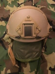 Ops-Core FAST Ballistic High Cut Helmet - SmallMed - New with accessories