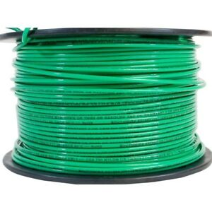 500 Stranded Copper Wire Green 14awg Thhn