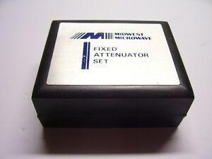 Midwest Microwave 18ghz Attenuator Set Reduced Price