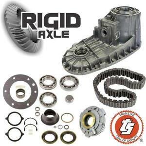 Ford Np271f Transfer Case Rebuild Kit W Front Half Bearings Seals Chain Pump