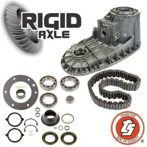 Ford Np271f Transfer Case Rebuild Kit W Front Half Bearings Gaskets Seals Chain