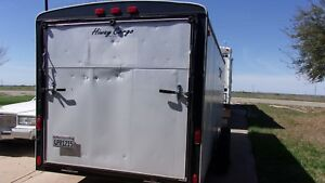 2003 Carson Enclosed Trailer 18 5 Ft Long 7 5 Ft Wide 6 5 Ft Tall