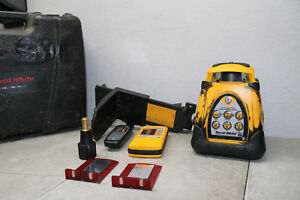 David White Self Leveling Rotary Laser Autolaser 3150 W Accessories