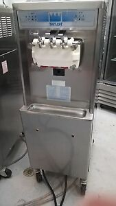 Set Of 4 Taylor 336 Ice Cream Freezers Single Phase Water Cooled 2010 Excellent