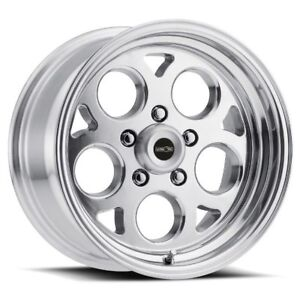17x4 5 Vision 561 Sports Mag 5x120 Et 24 Polished Rims New Set 4