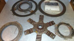 Nos Ih Friction Discs Steels Tractor Implement Case International Harvester