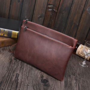 Paper Folder Document Leather File Bag Storage Luxury Business Design Holder Hot