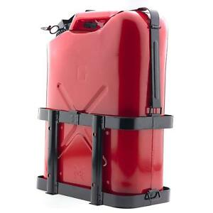 Jerry Gas Can Holder Universal For 5 Gal 20l Jug Heavy Duty Fuel Mount Carrier