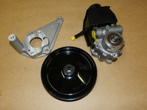 Gm Power Steering Pump Bracket Pulley Kit 98 02 Camaro Ls1