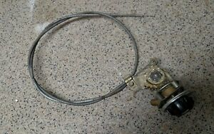 Mg Mgb Midget Dash Heater Mode Control Assembly Knob And Cable