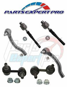 2001 2006 Mitsubishi Montero Steering Tie Rod End Set Front Sway Bar Link Kit