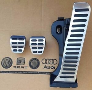 Vw Tiguan 5n 07 15 Original Pedalset Pedals Caps Cover Pads Manual Cars