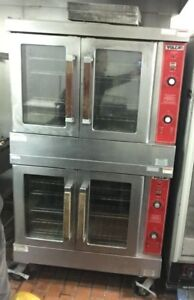 Vulcan Double Stack Gas Full Size Convection Oven Model Vc4gd 10