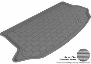 Fits 2010 2013 Kia Soul Cargo Liner Kagu Carbon Pattern Gray Customize Floor Mat