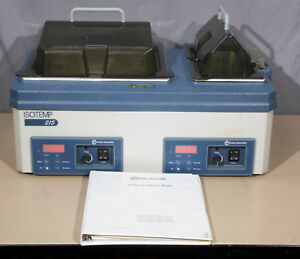 Fisher Scientific Isotemp 215 Dual Water Bath r25a
