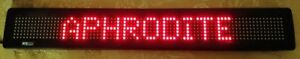 Betabrite Indoor Led Message Display Area 24 x 2 1