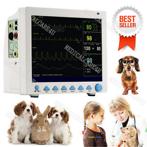 Fda Cms8000 Vet Veterinary Patient Monitor Icu 6 Parameters Vital Signs Monitor