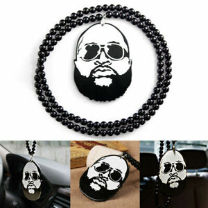 Car Pendant Ornament Long Full Beard Hip Hop Style Decor Hanging Rearview Mirror