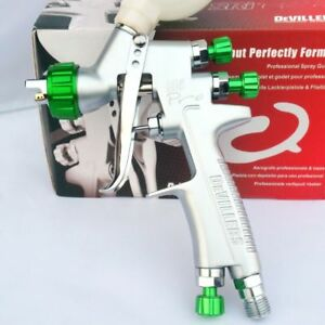 Sri Pro 1 2mm Hvlp Paint Spray Gun Devilbiss Mini Gravity Feed Paint Sprayer
