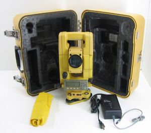 Topcon Gts 313 Total Station For Surveying 1 Month Warranty