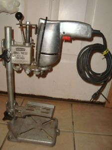 Sears Craftsman Drill Press Model 335 25926 Used vintage With 1 2 Drill