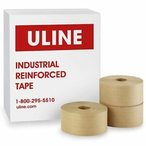 Brand New Uline Reinforced Tape S 2351 10 Rolls 3 By 450 Ft