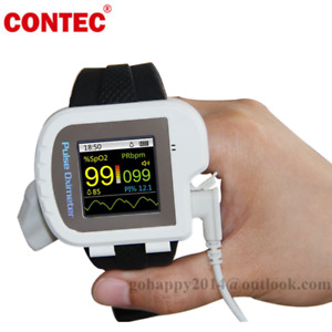 Wrist Watch Pulse Oximeter Blood Oxygen Monitor Pulse Oxygen Saturation Cms50i