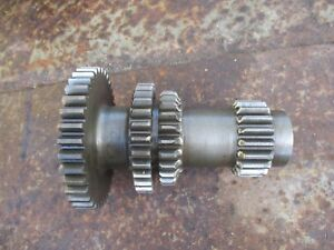 1952 Allis Chalmers Wd Farm Tractor Transmission Gear Shaft Assembly Free Ship
