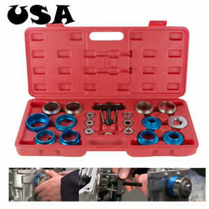 Camshaft Bearing Remover Installer Tool Kit Set Crank Seal Removal Motor usa ce