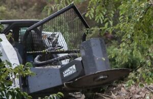 Land Shark Skid Steer Hydraulic Tree Saw ships Free To Tx Surrounding States