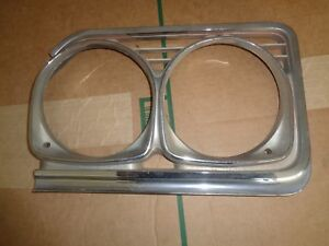 1966 Buick Skylark Gs Left Headlight Door