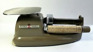 C1958 Vintage Pitney Bowes Postal Scale Mid Century