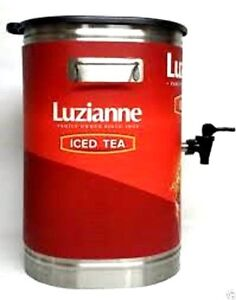 Bunn Commercial Restaurant Tdo 4 Iced Tea Dispenser 4 Gallon Luziane Tea w1