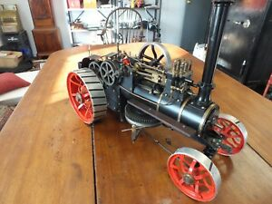 Traction Steam Engine live Steam