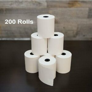 200 Rolls 2 1 4 X 50 Thermal Receipt Paper Pos Cash Register Credit Card Paper