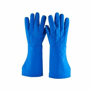 Cryogenic Gloves Low Temperature Resistant Ln2 Cold Proof Nitrogen Protective