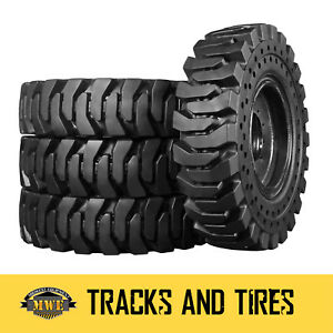 13 00 24 Extreme Duty R 4 Solid Rubber Telehandler Tires Terex Genie Gradall