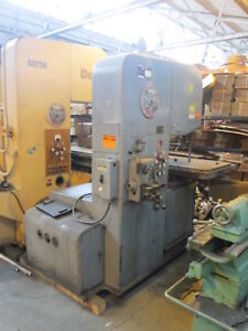Do All Model 2613 3 186 Band Length 440v 3ph Three Speed Vertical Band Saw