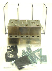 New Kit Of 3 Siemens 3ta3ng750 Vl Aluminum Lug With Hardware And Terminal Shield