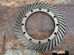1976 Case David Brown 990 4 Cylinder Diesel Tractor Ring Gear Free Shipping